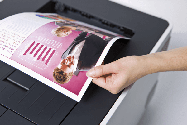 HL-4150CDN colour laser printer