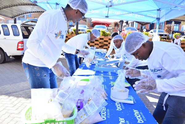 Mandela Day Food packing