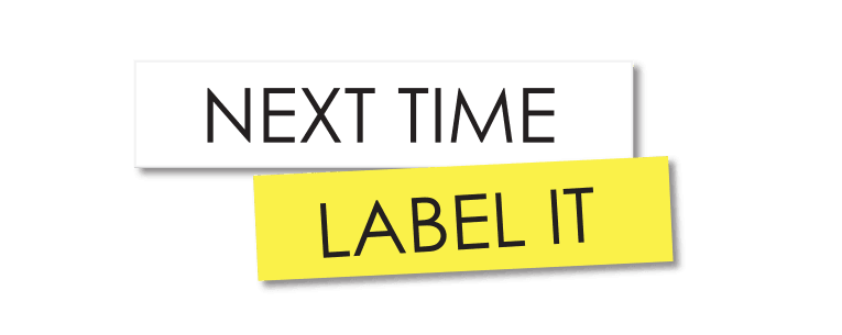 Next Time Label It logo