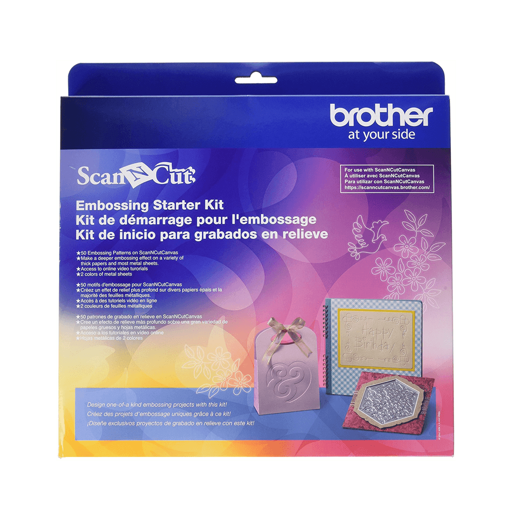Scanncut Embossing Kit web