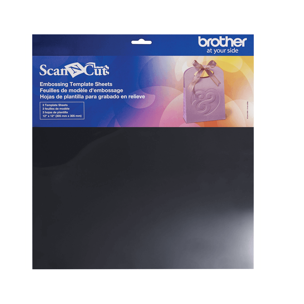ScanNCut Embossing Template Sheets