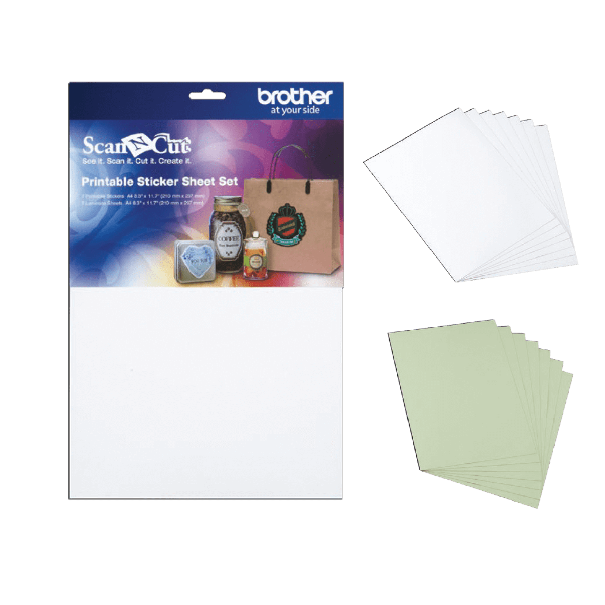 ScanNCut Printable Sticker Sheets