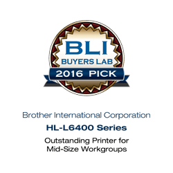 BLI Buyers Lab 2016 Award HL6400