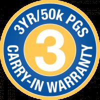 3YR 50K Warranty
