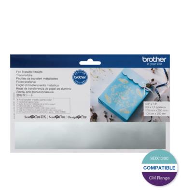 Foil Transfer Sheet - Silver